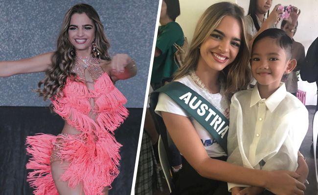 Bianca Kronsteiner vertritt Österreich bei der Miss Earth Wahl 2017.