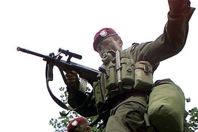 In einer Wiener Kaserne wurde in Soldat angeschossen