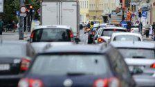 Baustellen sorgen für lange Staus in Wien