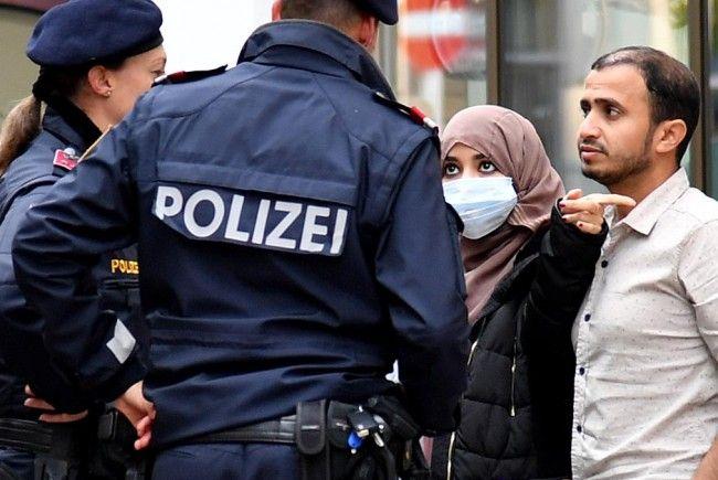 Verhüllungsverbot: Die Wiener Polizei zieht eine erste Bilanz.