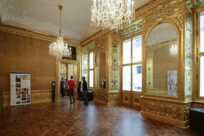 Der Winterpalais lädt zum Open House.