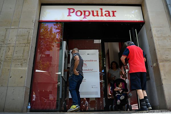 Eine Folge der Übernahme der Banco Popular