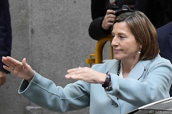 Forcadell konnte das Gefängnis nahe Madrid verlassen