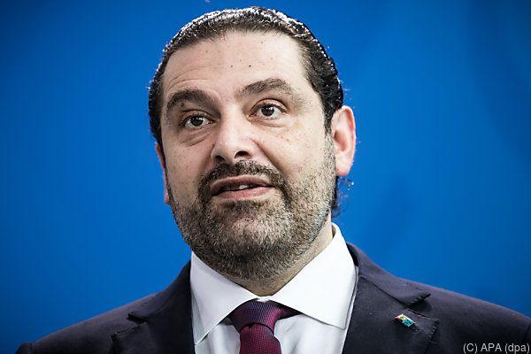 Libanons Ministerpräsident Saad Hariri ist nach Ägypten weitergereist
