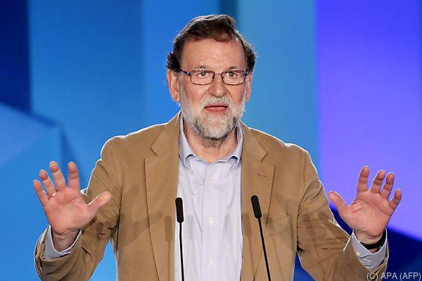 Mariano Rajoy zeigt sich zuversichtlich