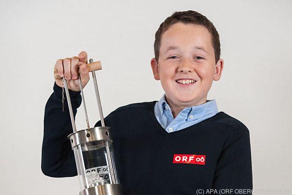 Tobias Flachner ist zwölf Jahre alt