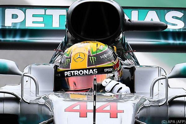 Der Mercedes-Star freut sich auf die Winterpause
