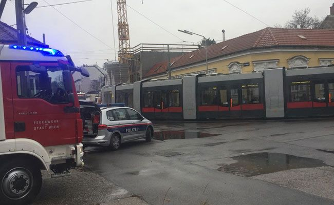 Beim Einsatz in Wien-Floridsdorf