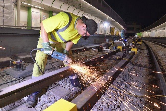 Auf der Linie U4 finden Modernisierungsarbeiten statt
