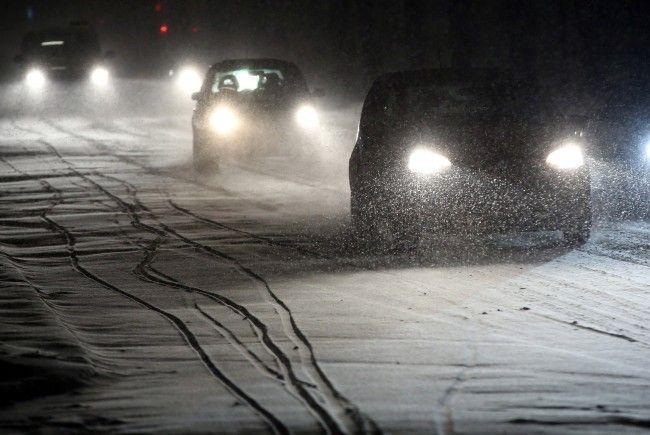 Seit 1. November gilt die situative Winterreifenpflicht.