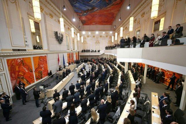 Die konstituierende Sitzung des Nationalras fand am Donnerstag statt.
