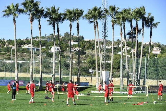 In Marbella lernen sich das ÖFB-Team und Neo-Chefcoach Foda kennen.