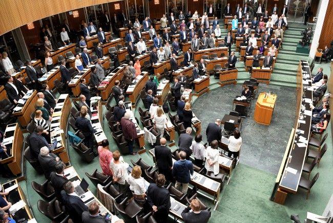 Die neue Sitzordnung im Nationalrat ist fix.