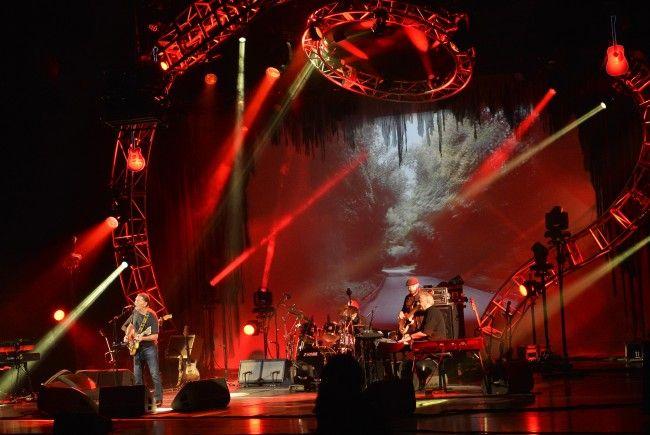 Chris Rea bei seinem Auftritt in der Wiener Stadthalle.