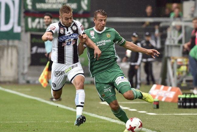 Live-Ticker zum Spiel Sturm Graz gegen Rapid Wien ab 16.00 Uhr.