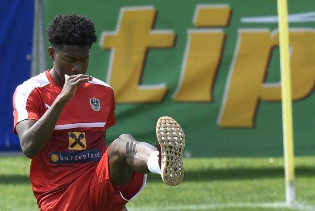 David Alaba fehlt gegen Uruguay verletzungsbedingt.