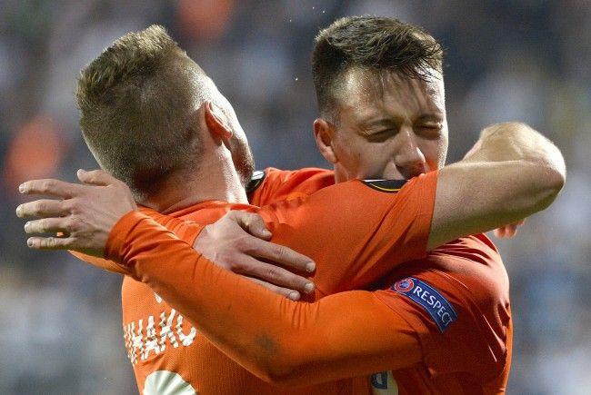 Die Wiener Austria schaffte gegen Rijeka auswärts den ersten Sieg in der EL-Gruppenphase.