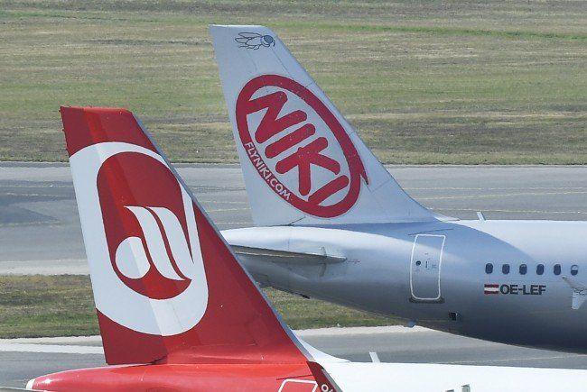 """TUIfly meldet die Rücknahme """"mehrerer"""" Flugzeuge von Niki an."""