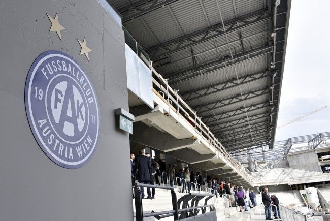 Das Frauen-CL-Finale könnte möglicherweise in der neuen Wiener Generali Arena stattfinden.