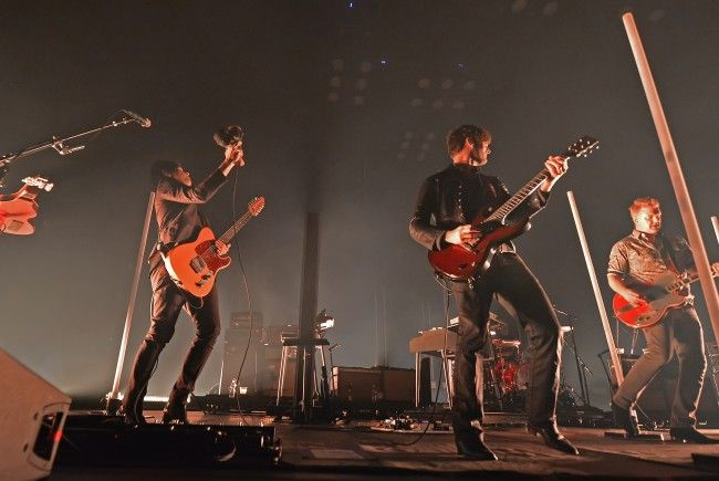 Queens of the Stone Age spielten am Sonntagabend in Wien.