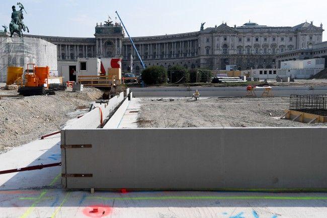 Die Kosten für die Parlamentssanierung am Wiener Ring liegen im Plansoll.
