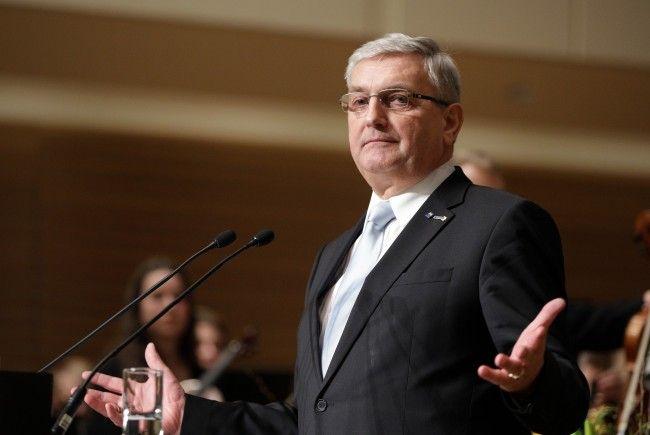 Gemeindebundpräsident Alfred Riedl stellte am Freitag einige Forderungen an die Regierung.
