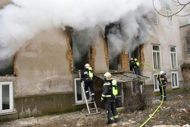 Ein Anwalt starb durch die Wucht der Explosion in Wien-Hernals.
