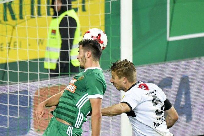 Rapid Wien verlor 1:2 gegen Altach.