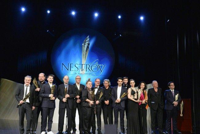 Wiener Nestroy-Preis-Verleihung im vergangenen Jahr.