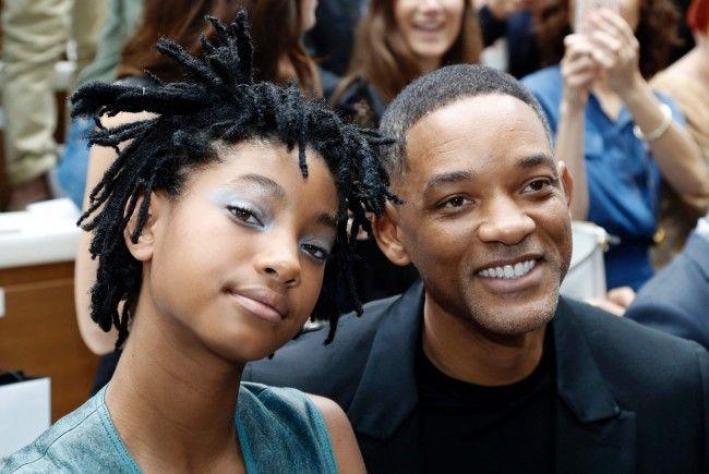 Willow mit ihrem Vater Will Smith.