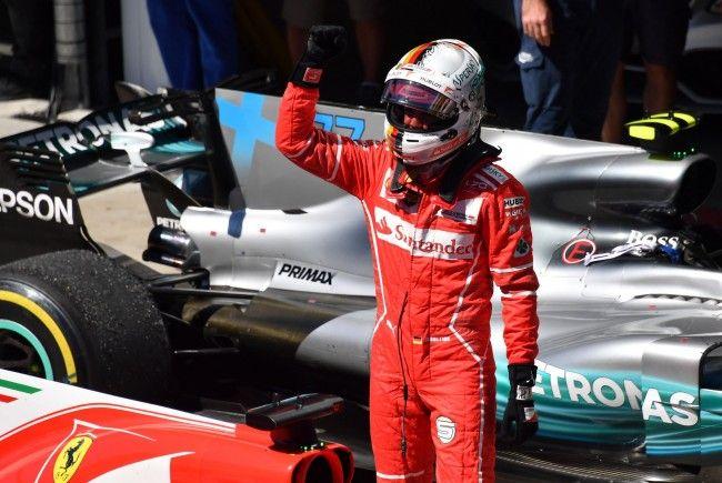 Sebastian Vettel (Ferrari) gewann den Großen Preis von Sao Paulo.
