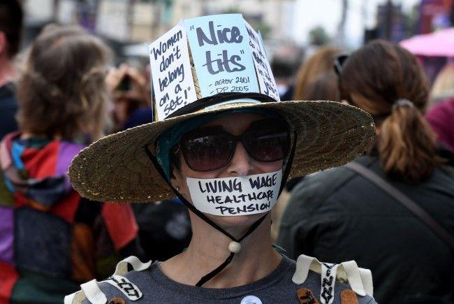 "Hunderte bei ""#MeToo""-Protestmarsch in Hollywood"