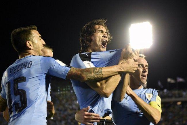 Edinson Cavani wird mit Uruguays Nationalmannschaft Mitte November in Wien gastieren.