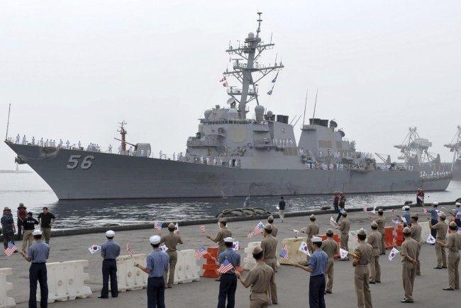 Bereits 2010 fand ein gemeinsames Manöver zwischen den USA und Südkorea statt.