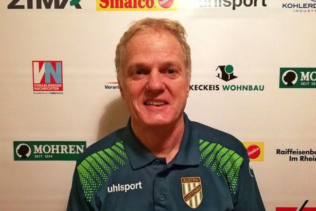 Michael Kopf neuer Cotrainer der Austria Lustenau