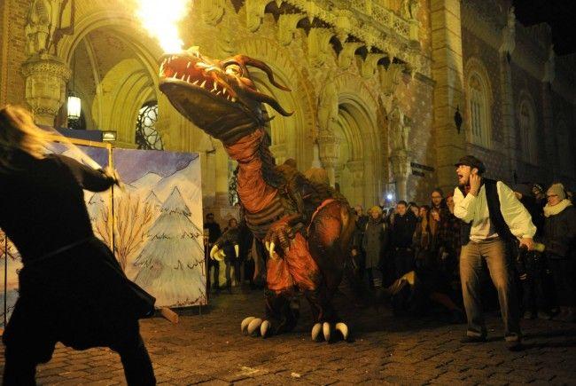 Vor dem Heeresgeschichtlichen Museum findet wieder ein grandioser Adventmarkt statt