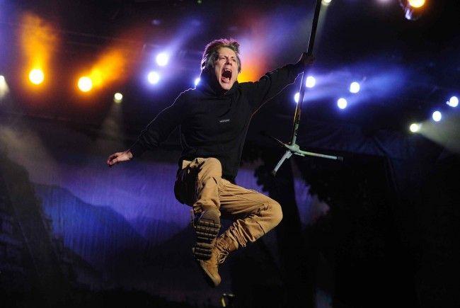 Auch Iron Maiden wird beim Nova Rock-Festival 2018 auftreten.