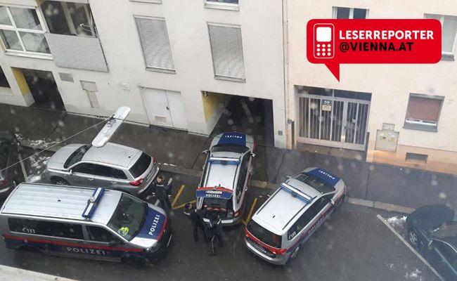 Bei einem Parkplatzstreit am Donnerstag musste Polizei und WEGA ausrücken