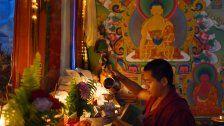 Advent beim tibetischen Weihnachtsmarkt