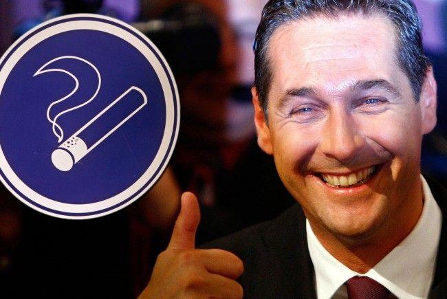 Strache und die FPÖ werden darauf bestehen, dass das Rauchverbot fällt.