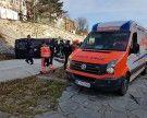 Unfall: Pkw-Lenker stürzte in Wien-Penzing in Wienfluss-Trasse