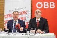 """""""Neue Seidenstraße"""": WKW und ÖBB wollen Anbindung"""