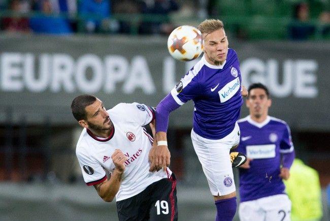 Hier können Sie das EL-Match zwischen AC Milan und Austria Wien sehen.