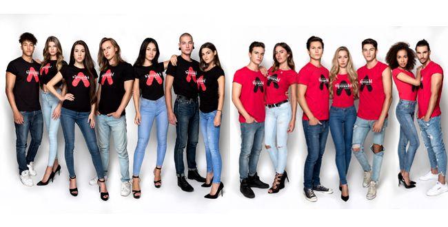 """Diese 14 Kandidaten überstanden die este Folge von """"Austria's Next Topmodel""""."""