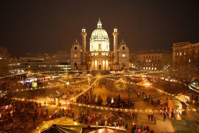 Am 17. November 2017 startet der Art Advent am Wiener Karlsplatz.