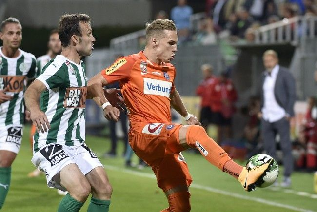 Nach dem 4:1-Triumph in der Europa League über Rijeka steht für die Wiener Austria am Sonntag wieder Bundesligakost gegen den SV Mattersburg auf dem Programm.
