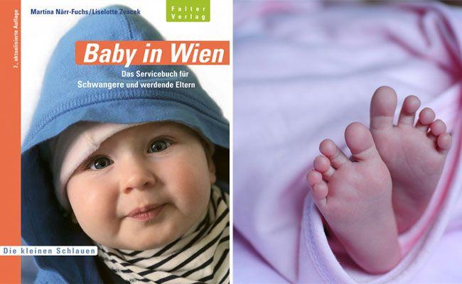 """""""Baby in Wien"""": Ein unverzichtbarer Guide für alle, die in der Bundeshauptstadt leben und Nachwuchs erwarten"""
