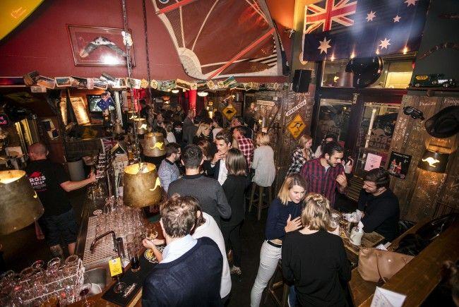 Das war die Geburtstagsfeier im Crossfield's Australian Pub in Wien.
