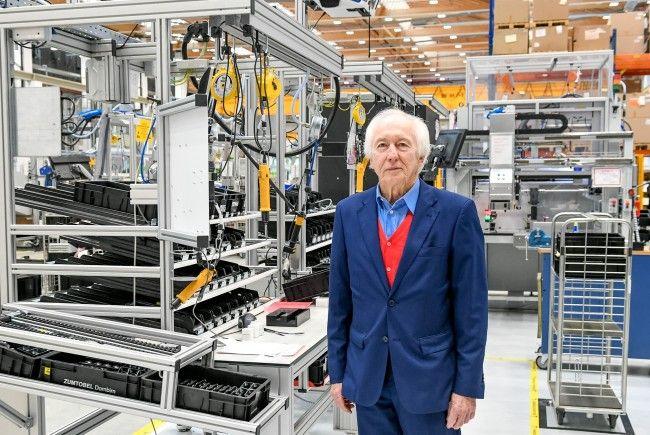 Der Aufsichtsratsvorsitzende der Zumtobel Group AG, Jürg Zumtobel, will das Schreiben nicht öffentlich kommentieren.