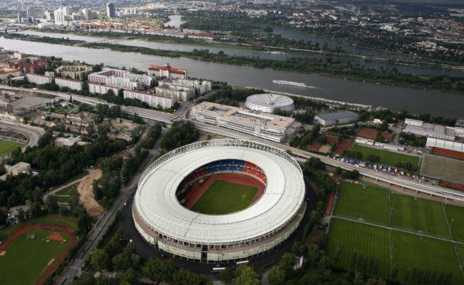 Aufgrund des Länderspiels werden Straßen beim Happel Stadion gesperrt.